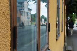 Vid Norrtälje busstation